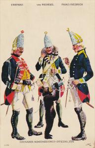 Hesse-Hanau Regiment Erb Prinz Grenadier Non-Commissioned Officers Fort Ticon...