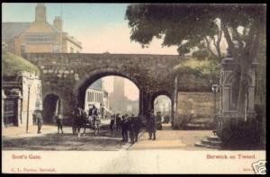 northumberland, BERWICK ON TWEED, Scot's Gate (1905)