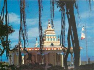 Reunion hindu temple postcard