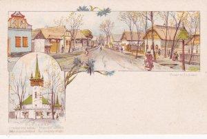 BUDAPEST, Hungary, 1890s; Posneres Fia. Budapest