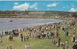 Annual Regatta at faamous Quidi Vidi lake, St. John´s, Newfoundland, Canada,...