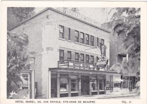 STE. ANNE DE BEAUPRE , Quebec , Canada , 1930s ; Hotel Morel