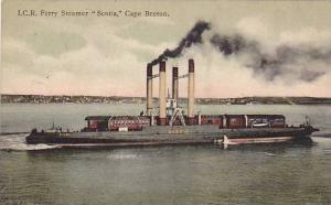 I.C.R. Ferry Steamer SCOTIA , Cape Breton , Nova Scotia , Canada , 00-10s