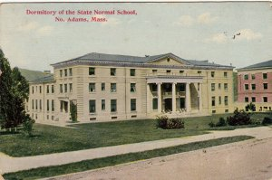 P1832 old pc dormitary the state normal school no. adams mass