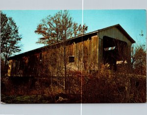 Indiana, Holton - Otter Creek Covered Bridge - [IN-059]