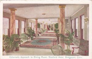 BRIDGEPORT , Connecticut, 00-10s ; Stratfield, Dining Room approach