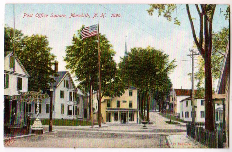 Post Office Square, Meredith NH