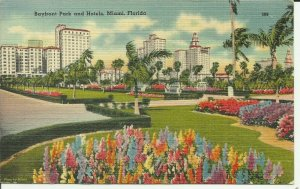 Miami, Florida, Bayfront Park and Hotels