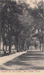 NEW HAVEN , Connecticut, 1901-07; Temple St. & Green