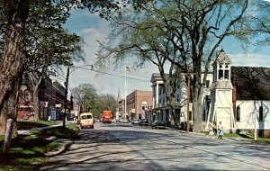 Maine Thomaston Main Street Business Section