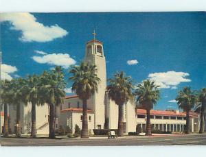 1950's CHURCH SCENE Phoenix Arizona AZ p4338