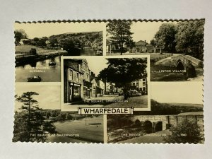 UNUSED VINTAGE MULTI POSTCARD - WHARFEDALE  (KK1434)