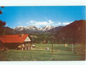 Postcards Y Camp Mummy Range  #740A