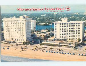 Unused Pre-1980 SHERATON HOTEL Fort Lauderdale Florida FL c1069