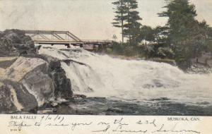 MUSKOKA , Ontario , Canada , PU-1907; Bala Falls, Bridge