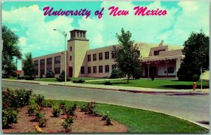 University of New Mexico Postcard MITCHELL HALL 1978 Albuquerque Cancel