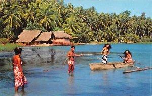 Return from Sea Tahiti Unused
