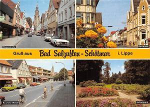 Bad Salzuflen Schoetmar i. Lippe, Am Markt Krumme Weide Schlosspark Cyclists