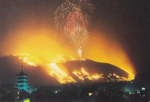 Postal 61559 : Burning of Mt. Wakakusa Nara