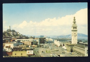 San Francisco, California/CA Postcard, Embarcadero Boulevard, Port & Docks