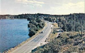 Pine Lake & Highway No. 71 Nestor Falls Ontario ON Canada