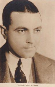 RP: RICHARD BARTHELMESS, American film actor, 1920s