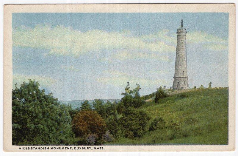 Duxbury, Mass, Miles Standish Monument