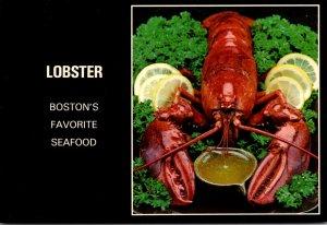Massachusetts Boston Lobster Boston's Favorite Food
