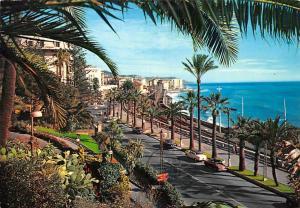 Italy Riviera dei Fiori Sanremo Corso Imperatrice The Flowers Coast Auto Cars