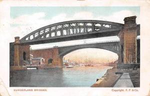 Sunderland Bridges River Boats Bateaux Pont