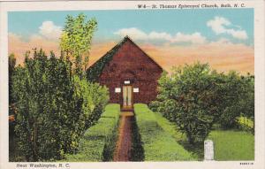 St Thomas Episcopal Church , BATH , North Carolina , 30-40s