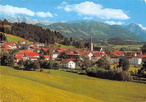 Burgberg Allgaeu mit Daumengruppe, Sonnenkopf Gesamtansicht