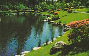 Canada Nitobe Gardens University Of British Columbia Grounds Vancouver