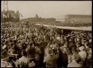 USA Germany 1927 Chamberlin 1st Transatlantic Passenger Airplane Photo 66725