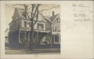 Mount Mt. Vernon NY Home c1905 Real Photo Postcard