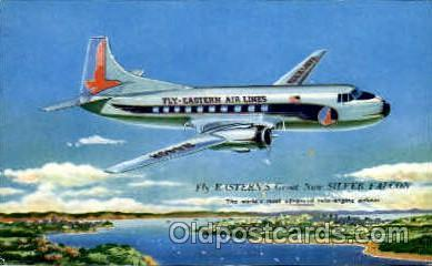 Easters Silver Falcon Airplane, Aviation, Postcard Post Card  Easters Silver ...