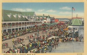HAMPTON BEACH , New Hampshire , 1930-40s ; Children's Parade