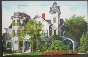 Residence of John Lewis Childs Floral Park NY -vintge-