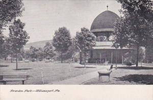 Pennsylvania Williamsport Brandon Park