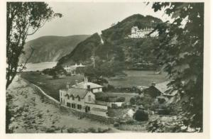 UK, View from Shelley's Cottage, Lynmouth, Photo Snap-Shot