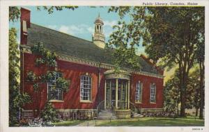 Maine Camden Public Libray