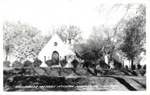 Reedsburg Wisconsin~Greenwood Cemtery~Freda Meyers Nishan Chapel~1950s RPPC