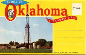 Folder -  Oklahoma, The Sooner State    12 views + map