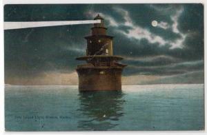 Deer Island Lighthouse, Boston Harbor MA