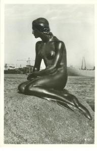 Denmark, Kobenhavn, Copenhagen, The little Mermaid,