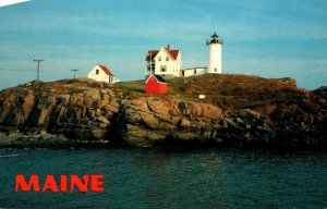 Maine York Cape Neddick Nubble Lighthouse