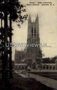 Chapel, Duke University, Men's Campus in Durham, North Carolina