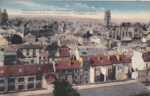 France Reconstruction Of Reims General View