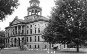 Paw Paw Michigan Court House Real Photo Antique Postcard K64763
