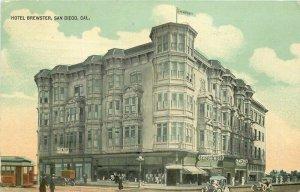 Autos Exposition Seal Hotel Brewster San Diego California 1912 Postcard 21-3359